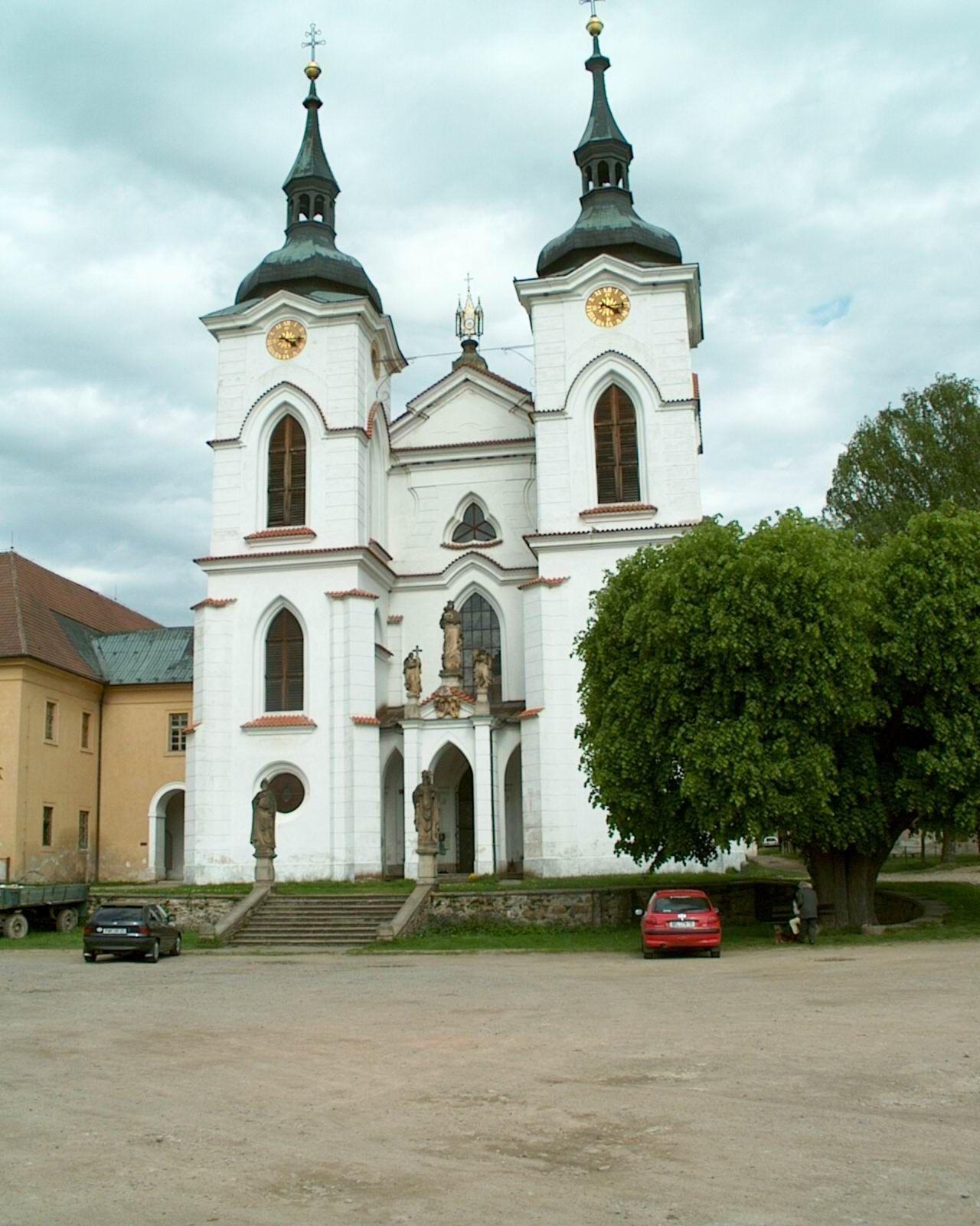 Kostel Narození Panny Marie v Želivě