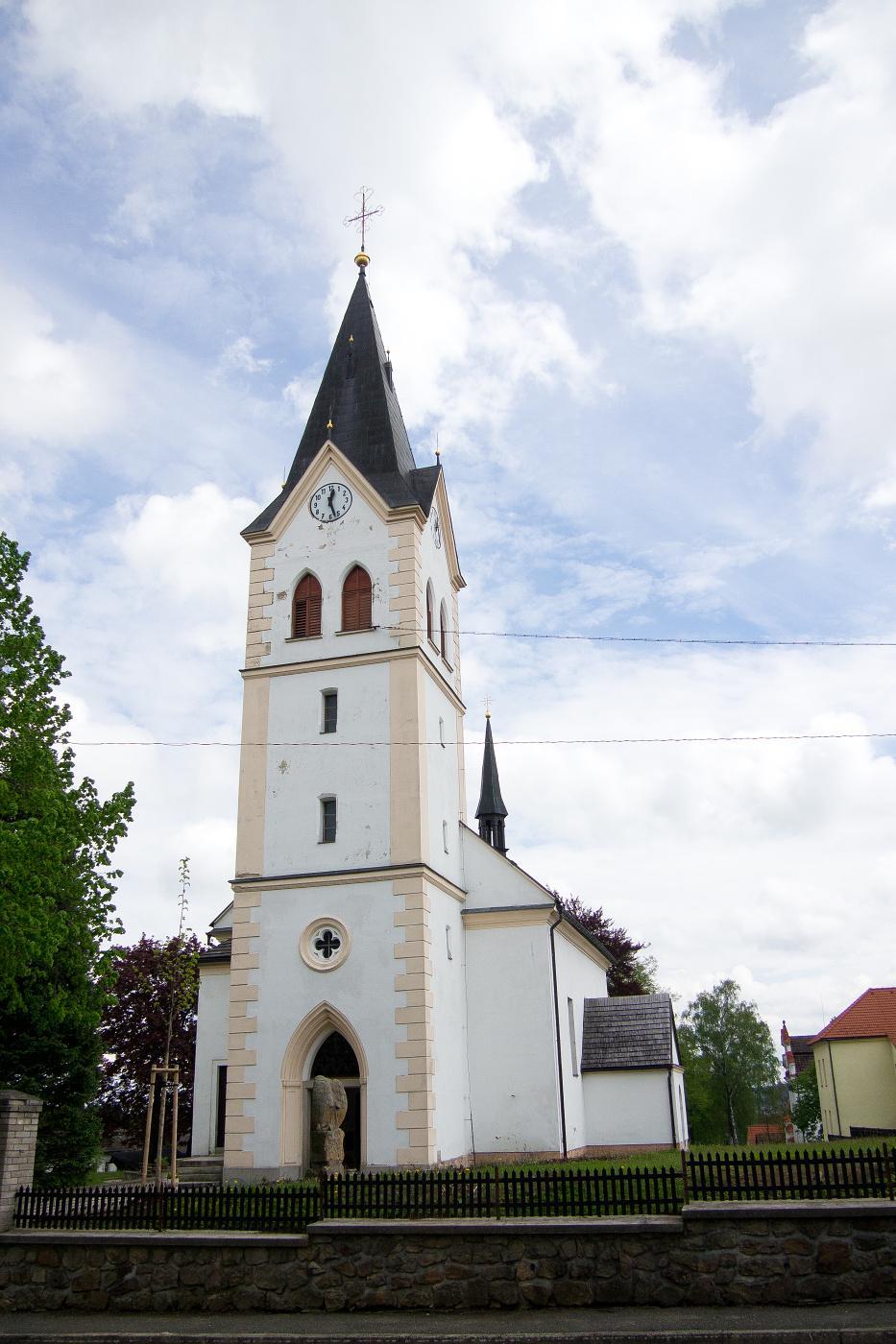 Kostel - Jiřice