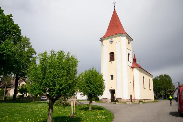 Kaliště - kostel