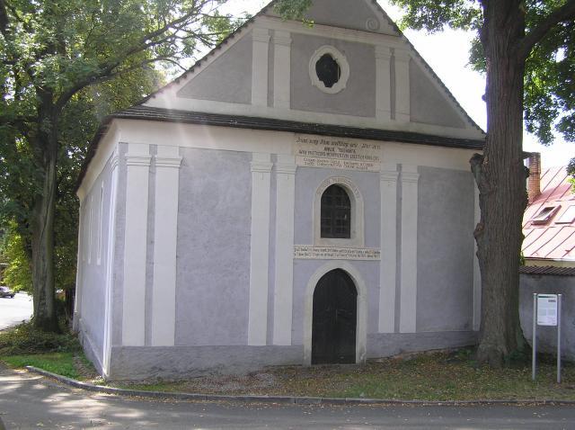 Toleranční kostelík v Humpolci