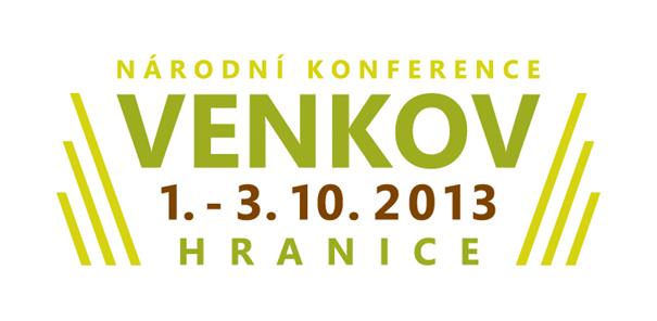 Národní konference VENKOV 2013, Hranice na Moravě 1. - 3. října 2013